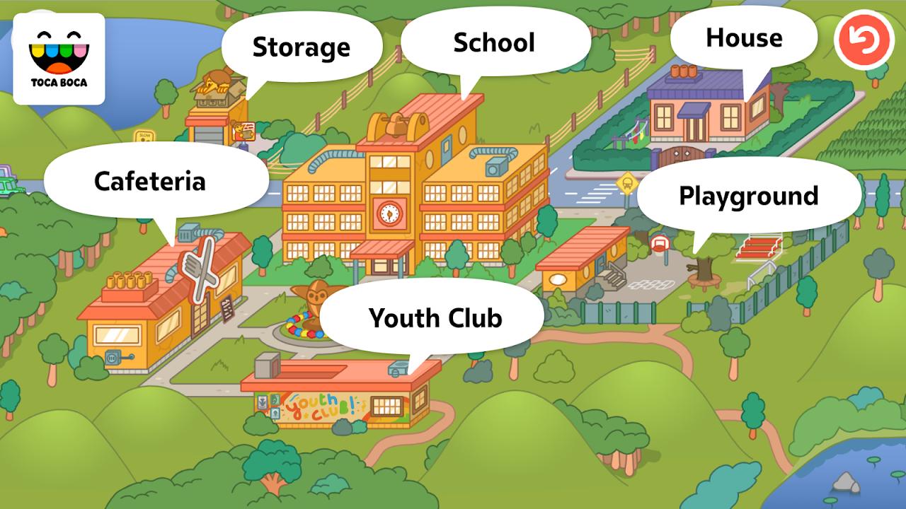 Toca Life: School 1.4-play Screen 4