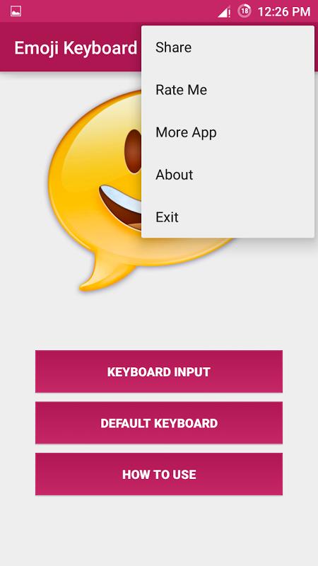 Android Emoji Keyboard Screen 7