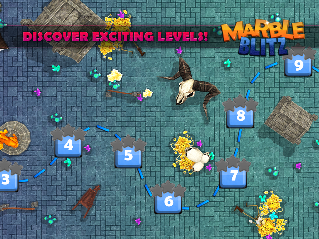 Android Marble Blitz Ball Blast Legend Screen 1