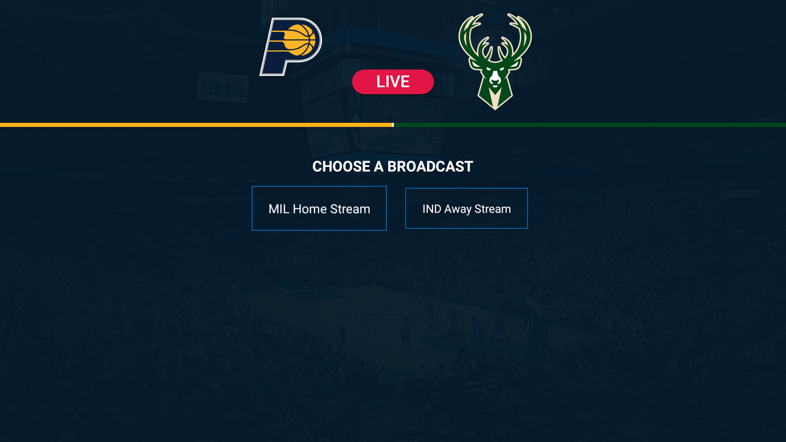 NBA for Android TV 2017.1.0 Screen 3