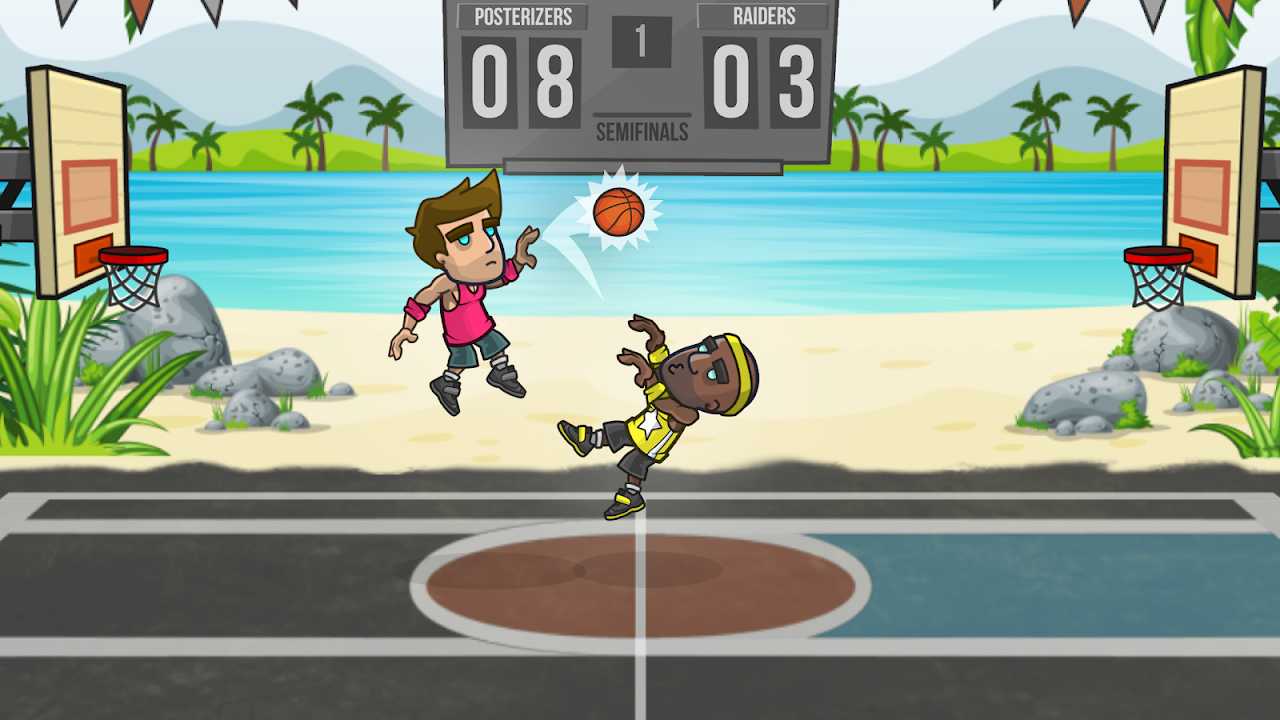 Basketball Battle 2.1.7 Screen 1