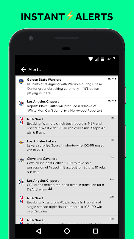 Android Bleacher Report Screen 9
