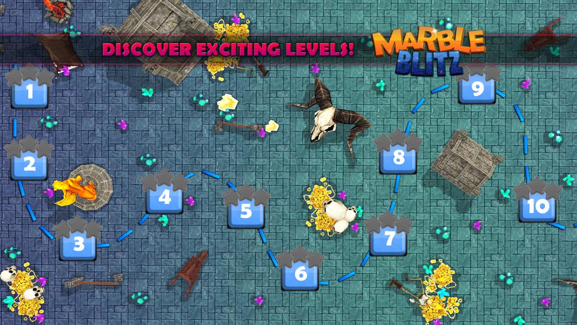 Android Marble Blitz Ball Blast Legend Screen 5