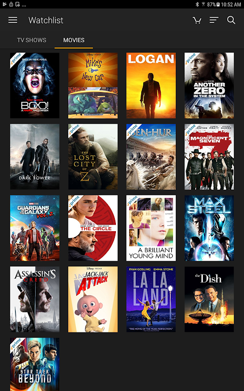 Android Amazon Prime Video Screen 4