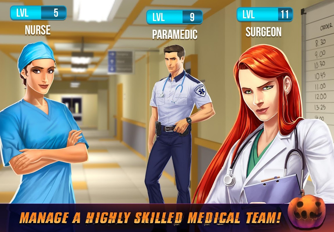 Operate Now: Hospital 1.23.3 Screen 2