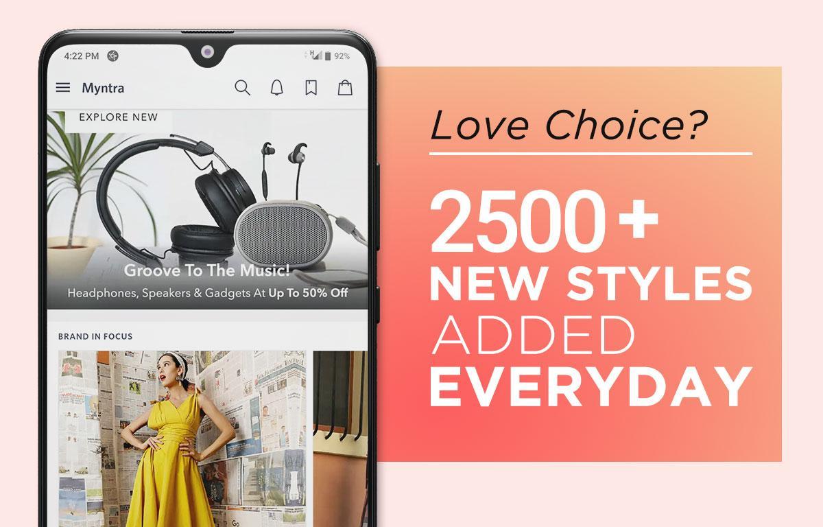 Myntra Online Shopping App 1.1 Screen 4
