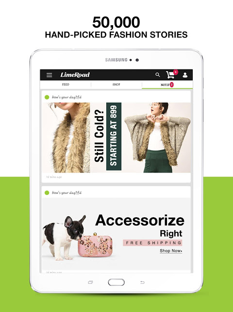 LimeRoad Online Shopping App 5.5.8 Screen 7