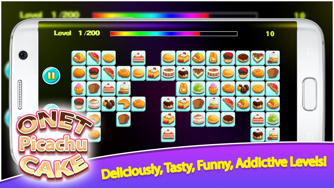 Onet Picachu Cake 1.0.0 Screen 2