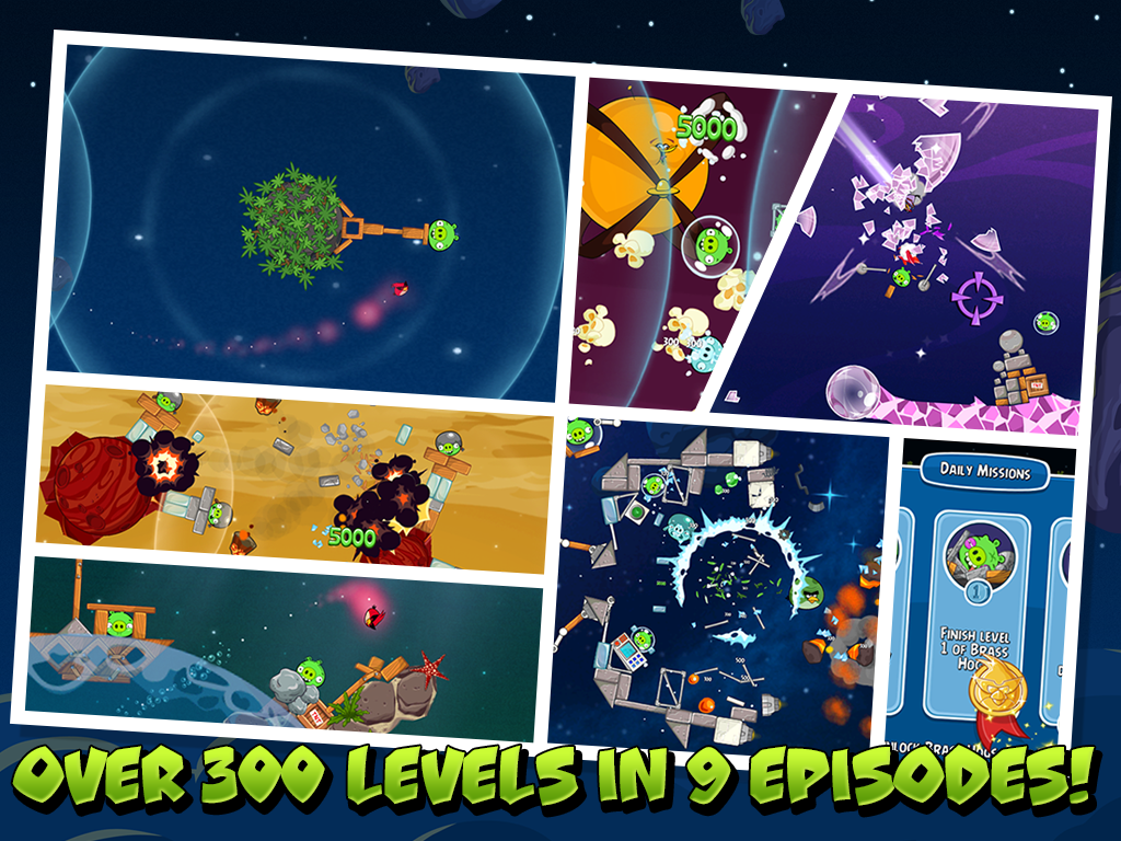 Angry Birds Space 2.2.14 Screen 9