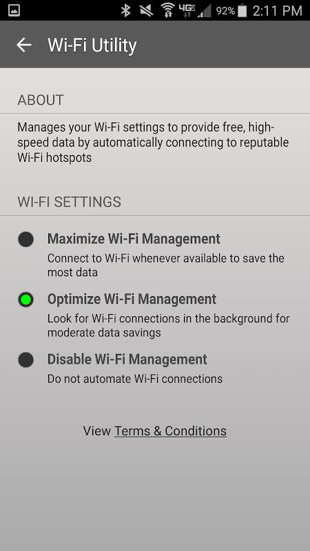 Wi-Fi Utility 1.4.16 Screen 1