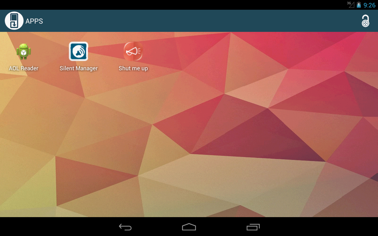 Android Save Me control your apps free Screen 3