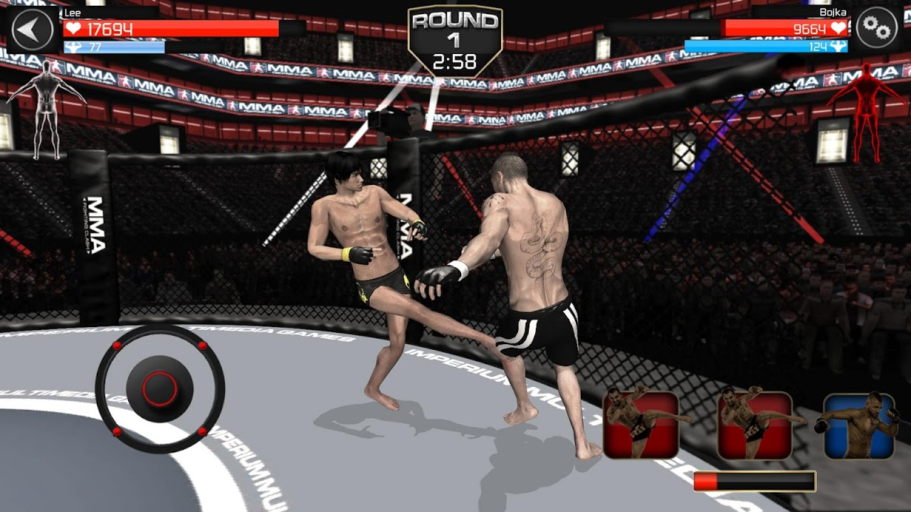 Android MMA Fighting Clash Screen 3