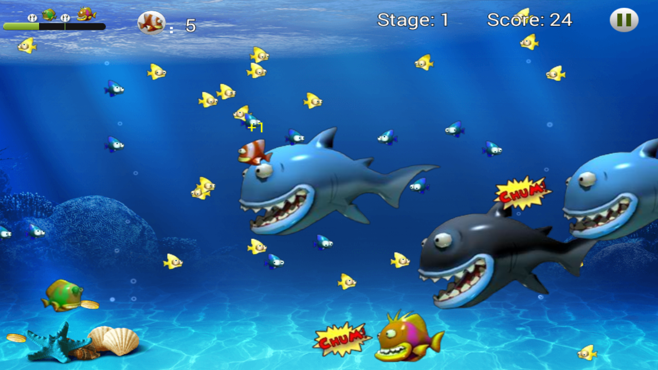 Feeding Frenzy - Eat Fish 1.1 Screen 4