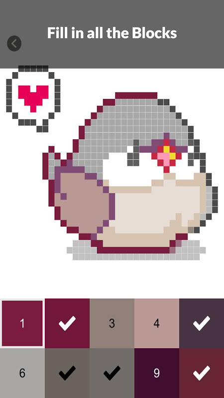 Android Pet Pixel Paint - Color by Numbers Screen 2