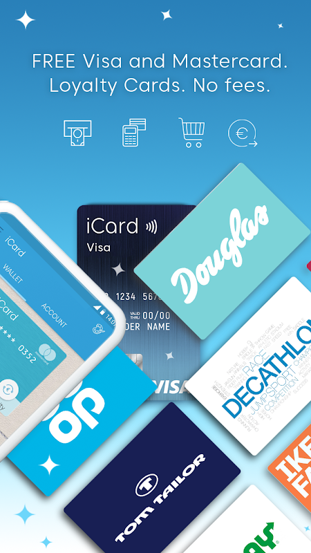 iCard – Digital Wallet for Payment & Loyalty Cards 4.0 Screen 1