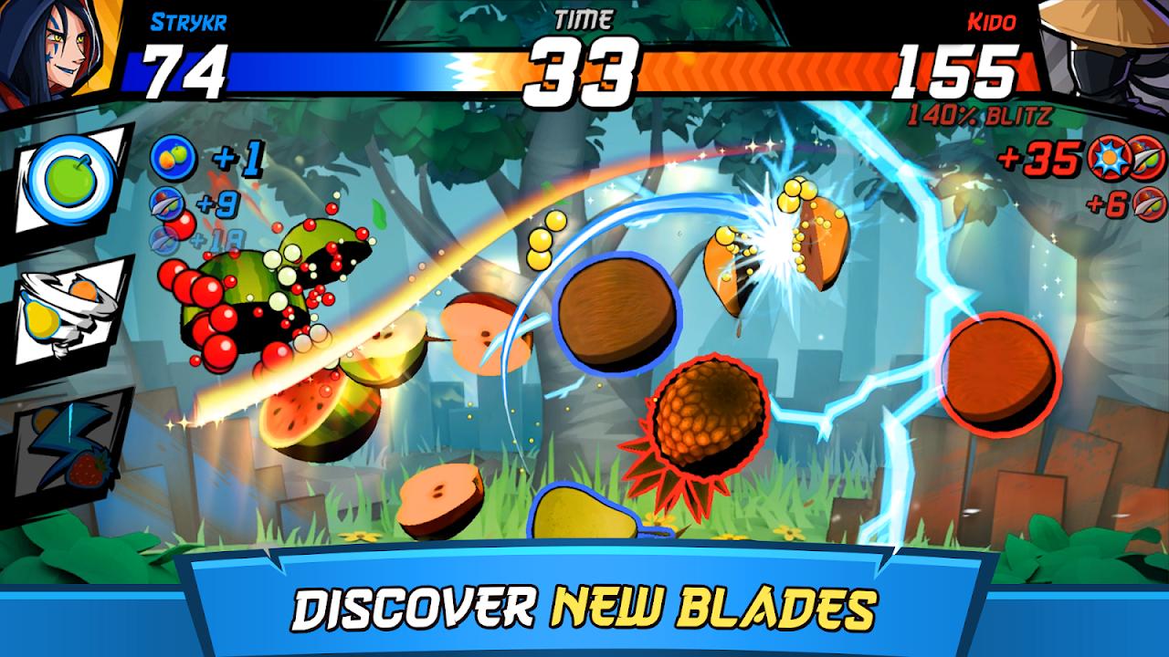 Fruit Ninja Fight 1.15.0 Screen 1