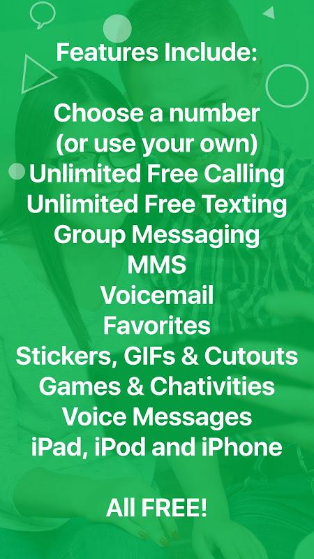 textPlus: Free Text & Calls 7.4.1 Screen 4