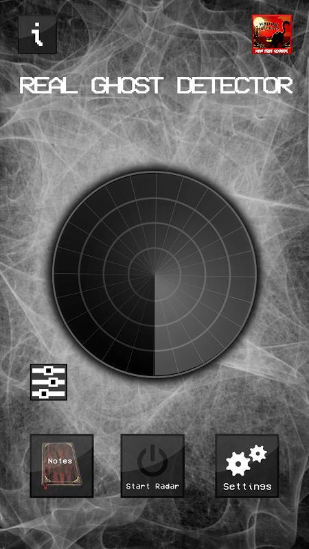 Real Ghost Detector - Radar 1.5.8 Screen 1