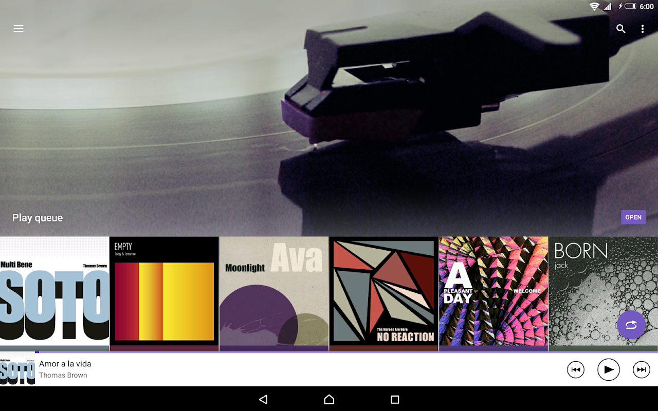 Android Music Screen 10