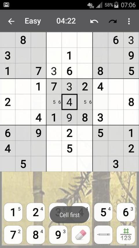 Sudoku 10.2.5.g Screen 3