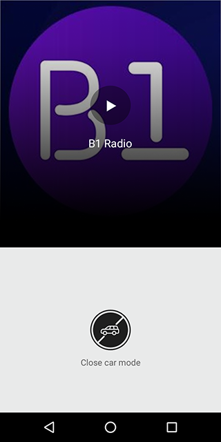 Android B1 Radio - Live Radio Screen 3