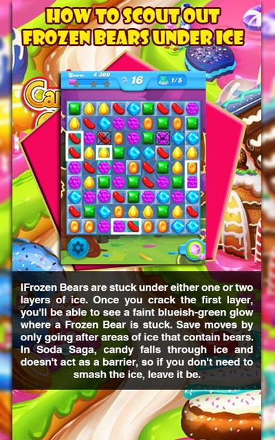 Candy Crush Saga  Guide and Cheats 1.0 Screen 1