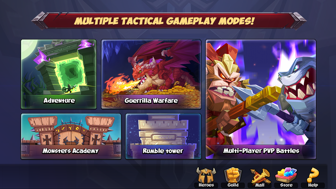Android Tactical Monsters Rumble Arena -Tactics & Strategy Screen 4