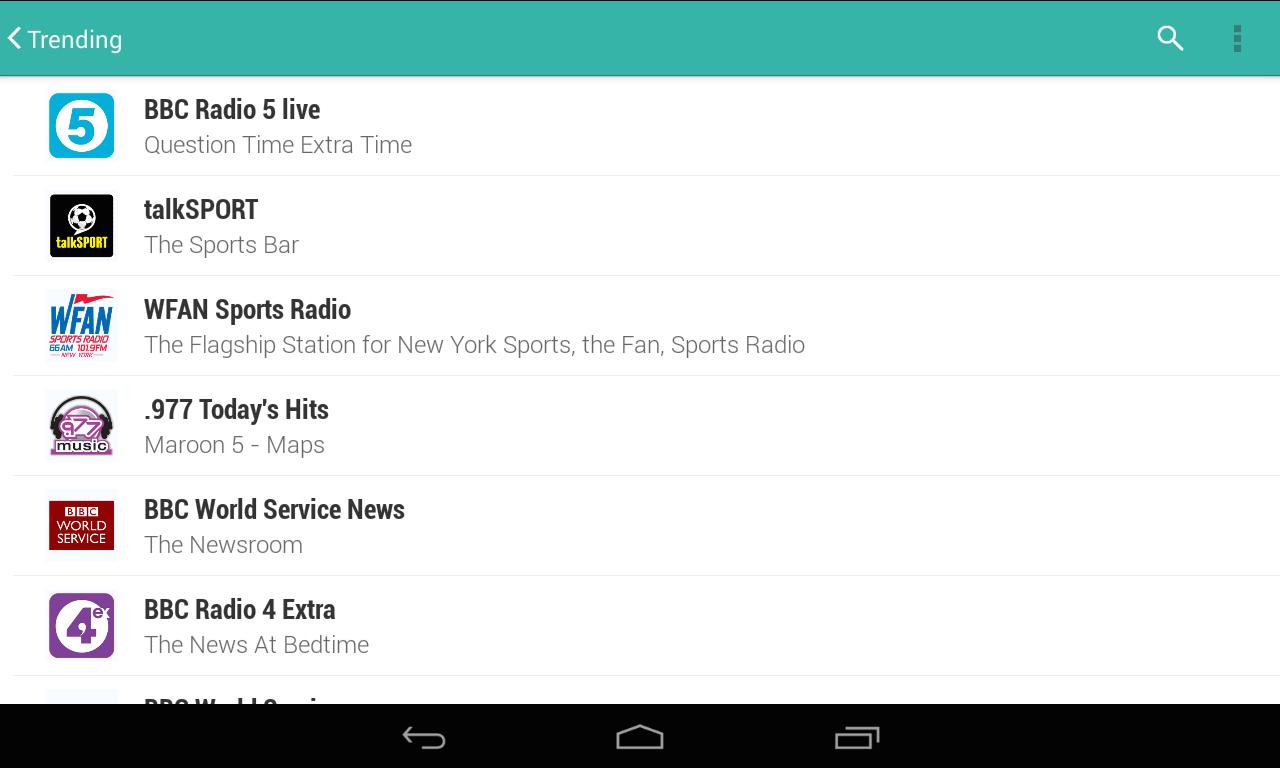 tunein radio pro apk 21.4.1