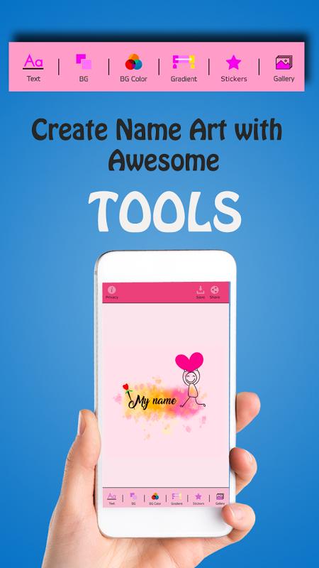 My Name Art Focus n Filter 1.4 Screen 2