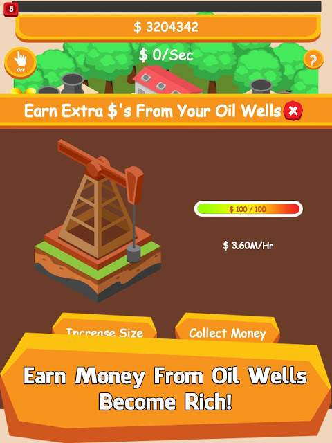 Android Oil Tycoon - Idle Clicker Game Screen 2