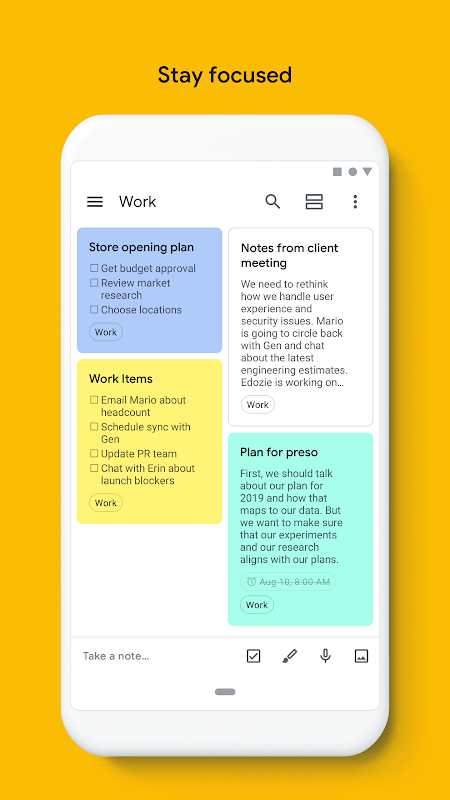Google Keep - Notes and Lists 5.0.441.03.40 Screen 9