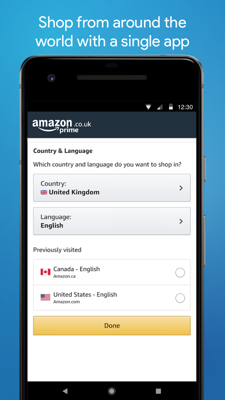 Android Amazon Shopping Screen 6