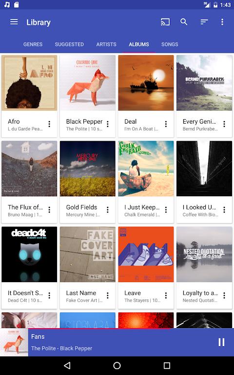 Shuttle+ Music Player 2.0.7-beta1 Screen 13