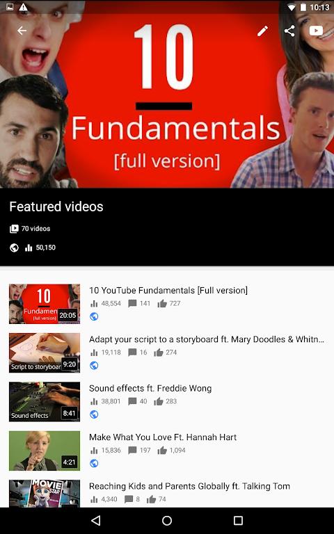 YouTube Studio 18.48.100 Screen 14