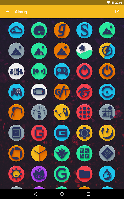 Android Almug - Icon Pack Screen 12