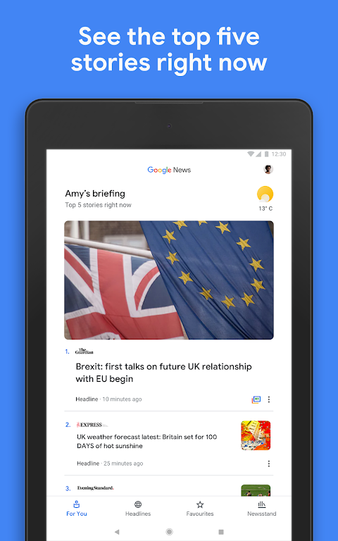 Android Google Play Newsstand Screen 8