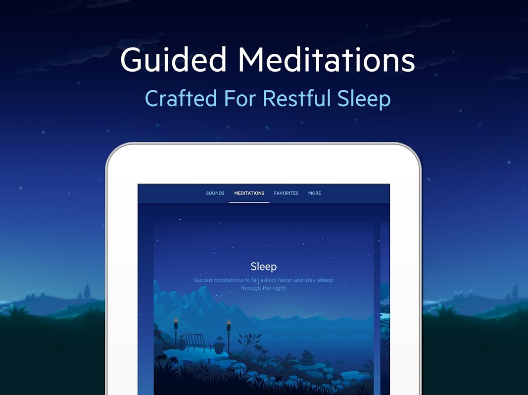 Android Relax Melodies: Sleep Sounds Screen 9
