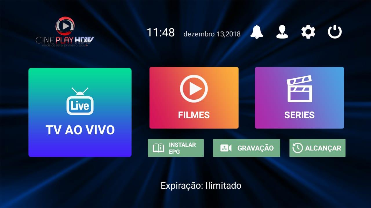 Cine Play HDTV 1.6.9 Screen 1