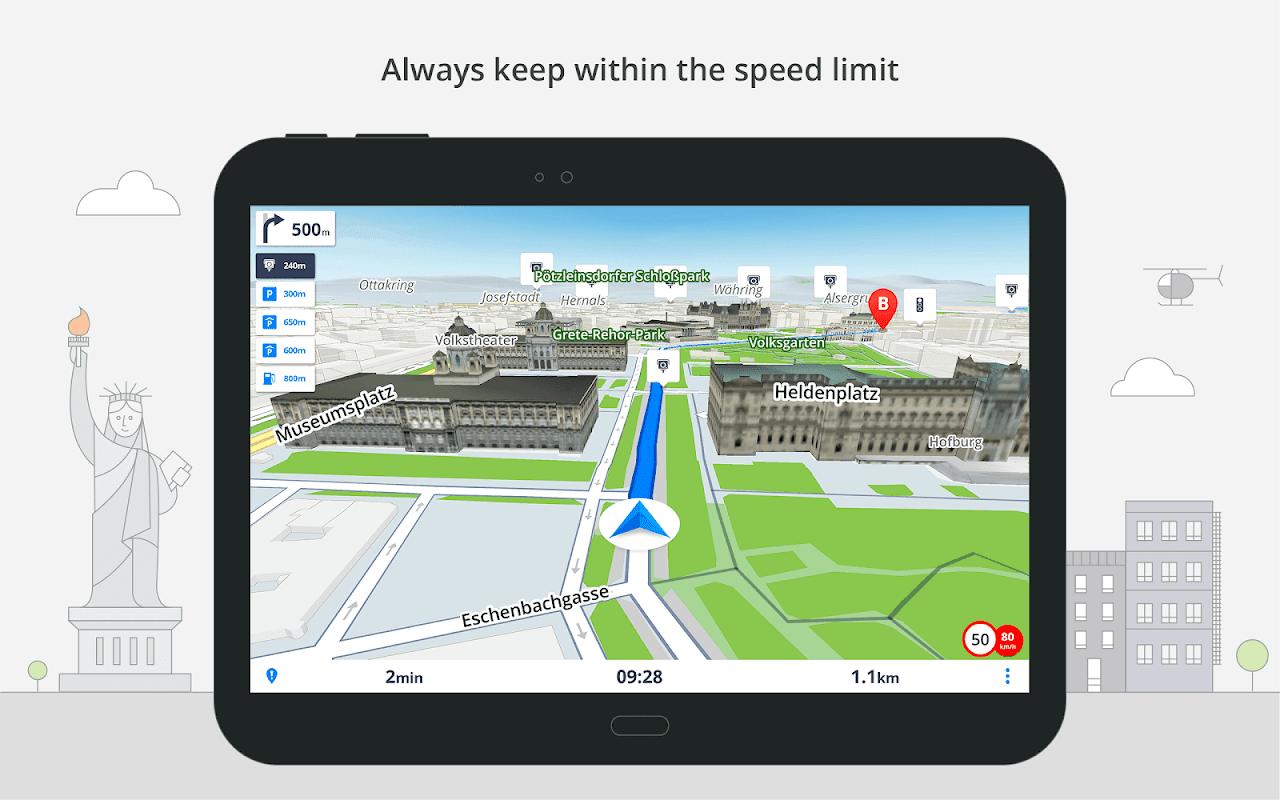 GPS Navigation & Maps Sygic 18.4.2 Screen 5