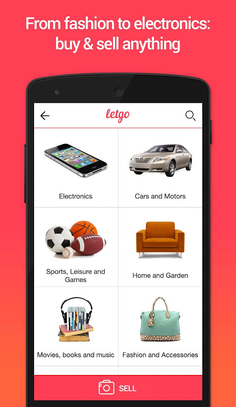 letgo 1.5.4 Screen 3