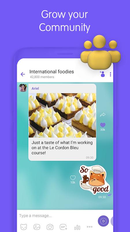 Viber Messenger 10.8.0.4 Screen 3
