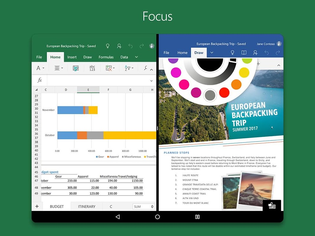 Android Microsoft Excel Screen 12