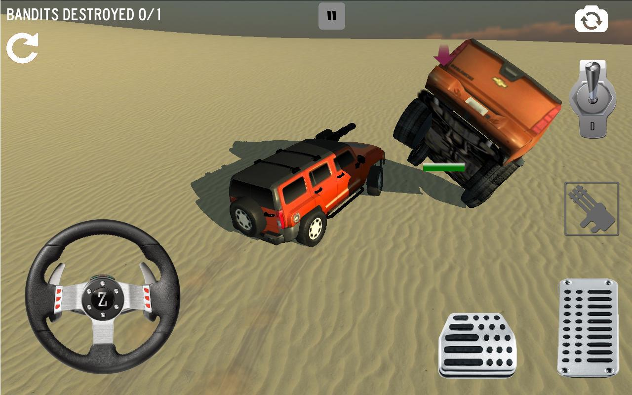 Android 4x4 Desert Safari Attack Screen 7