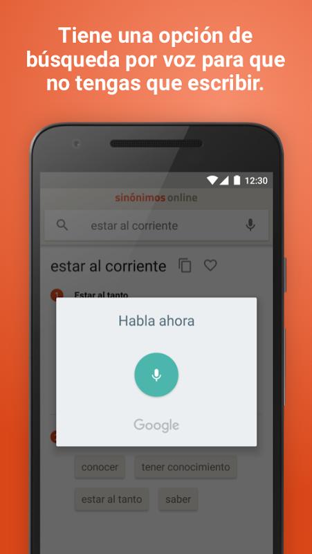 Diccionario Sinónimos Offline 2.7.0 Screen 3