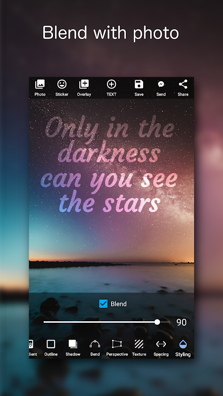 Add Text on Photo: Graphic Design with 800+ Fonts 4.2.1 Screen 7