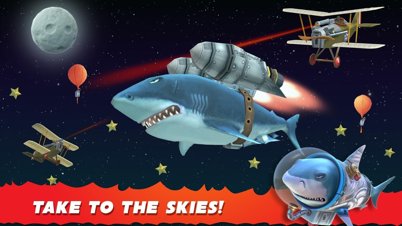 Android Hungry Shark Evolution (Mod) Screen 18