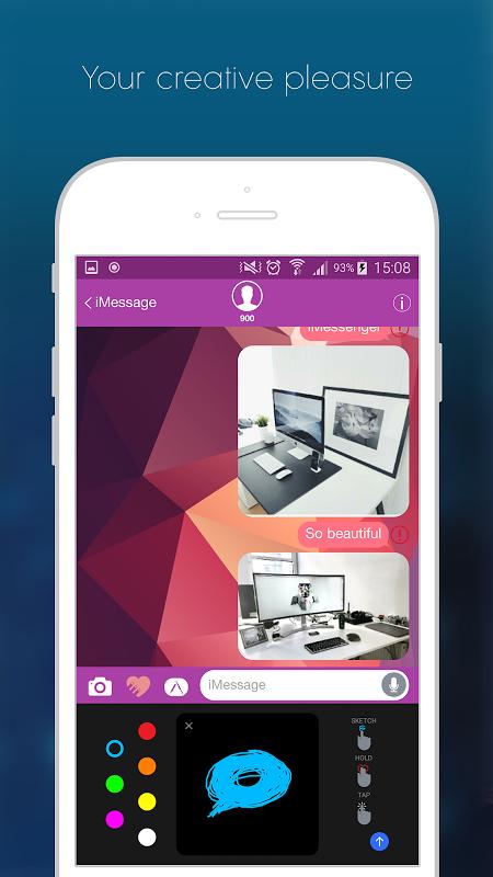 iMessenger OS10 APKs | Android APK