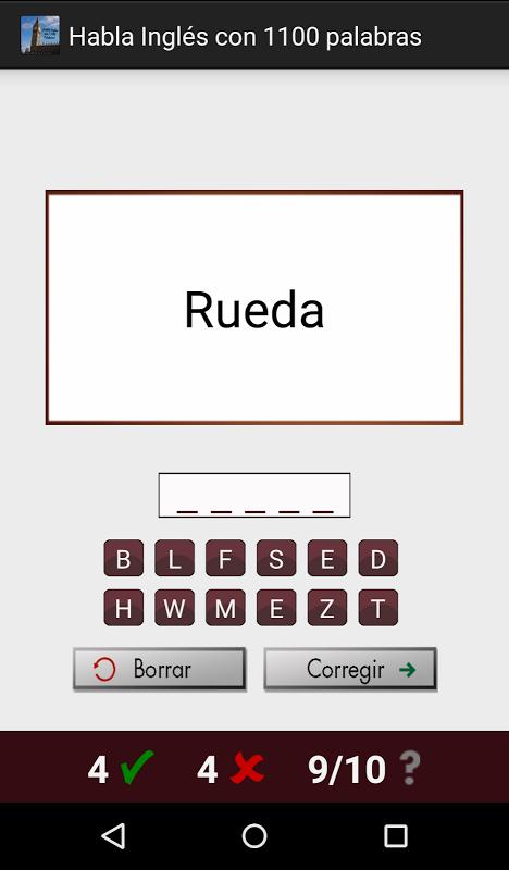 Android Habla Inglés con 1100 palabras Screen 5
