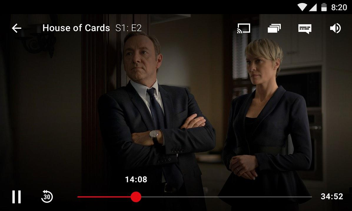 Netflix 4.16.1 build 200147 Screen 2