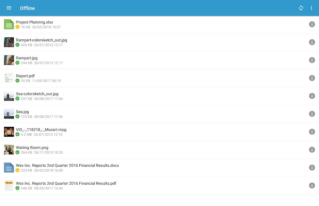 Oodrive Mobile 1.8 Screen 15